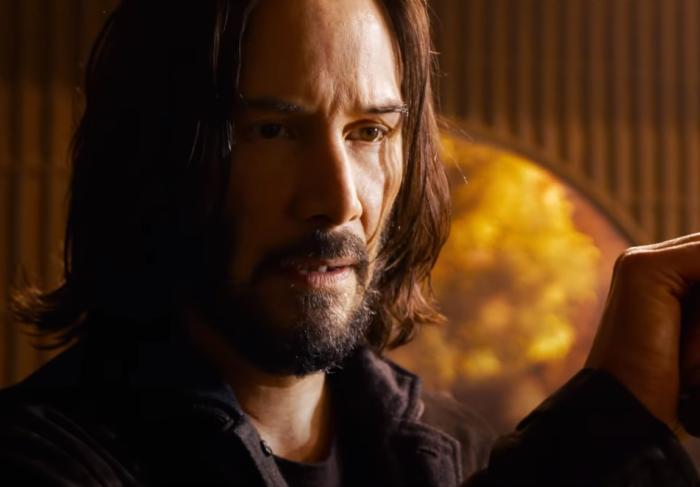 Кадр из фильма «Матрица: Воскрешение»
