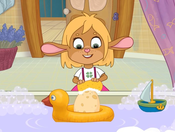 Кадр из мультсериала «Забезу. Уши с хвостиком»